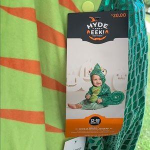 Infant chameleon costume 12-18months NWT